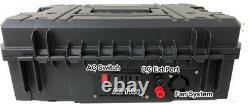 1000w Générateur Solaire Portable Lithium+150 Watt Panneau 110v Pure Sine Inverter