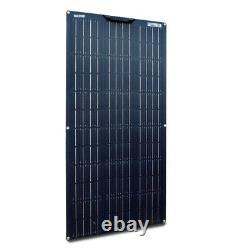 100w 12v Solar Panel Kit 100 Watt 18v Module Mono Flexible 20a Contrôleur Voiture Rv