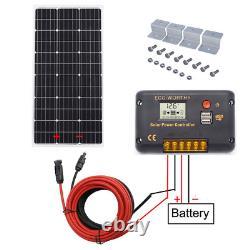 100w 200w 300w 400w 500w 600w Watt Kit De Panneau Solaire Pour Rv Charge De La Batterie À Domicile