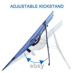 100w 200w 300w Watt Pliable Solar Panel Kit Rv Camping Batterie Chargeur