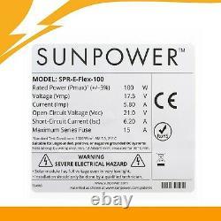 100w Panneaux Solaires Flexibles Rv 12v Panneaux Mono De 100w