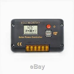 100w Watt 200w 300w 400w 500w 600w Kit Solaire Pour Panneau Hors Réseau Chargeur De Batterie