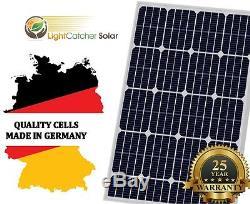 100w Watt Panneau Solaire Mono Volt 12v Pour Bateaux Hors Réseau Rv Charge De La Batterie Allemagne