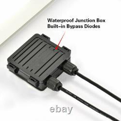 100watt Panneau Solaire Monocristallin 18v 12v Hors Réseau Rv Chargeur De Batterie Marine