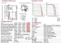 12.2 Kw Ground Mount 39 X 315 Watt Panneaux Solaires 2 Onduleurs & Racking