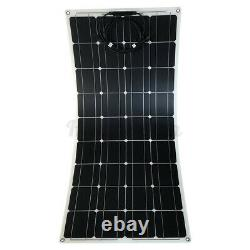 12v 300w Watt Solar Panel Kit Mono Pour Camping Caravan Boat Rv Van 1030670cm