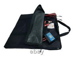 150 Watt Poids Léger 7 Lb Porte-documents Pliant Kit De Panneau Solaire Avec Contrôleur De Charge