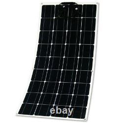 150w Watt 12v Volt Panneau Solaire Monocristallin 150w Panneau Solaire Très Flexible