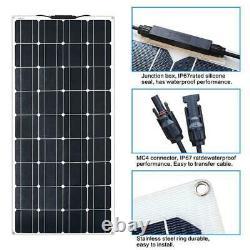 180 W Watt 12 Volts Flexible Mono Solar Panel 180w Rv Boat Marine Camping