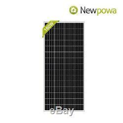 180 Watts 180w Newpowa Moncrystalline 12v Panneau Solaire Mono Module Rv 180 200