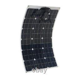 180w Watt 18v Volt Panneau Solaire Monocristallin 180whighly Flexible Panneau Solaire
