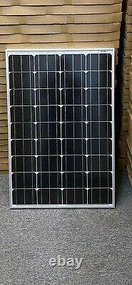 200 Watt 12 Volt Mono Solar Panel 2-100w 12v Hors Réseau Rv Marine Batterie Charging