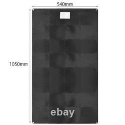 200 Watt Etfe 2pcs 100w Panneau Solaire Flexible Mono Pour 12v Batterie Rv Charge Bateau