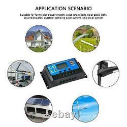 200w Watt Panneau Solaire Mono 12v/24 Volt Pour Hors Réseau Rv Batterie Charge