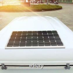 200watt Mono Panneau Solaire Kit Avec 20a Régulateur Solaire Pour Bateaux Rv Caravan Accueil