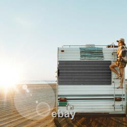 300w 12v Solar Panel Kit 3pcs 100 Watt Module Mono Flexible 30a Contrôleur Rv