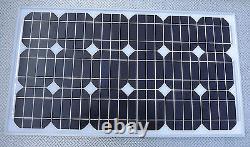 30w Monocrystalline Solar Panel 24v Chargeur 30 Watt 24 Volts Costume Camion Horsebox