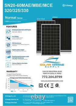 320 Watts S-energy Solar Panel 60 Mono 325 330 310 305 Moins $1/w Monocrystalline