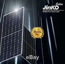 330w X20 (6600 Watts) Des Panneaux Solaires (20 = 2 / 3pallet) Mono, Perc, Tout Noir