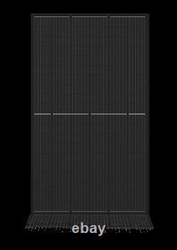330w X30 (9900 Watts) Panneaux Solaires 30 = 1pallet Mono, Perc, Tout Noir