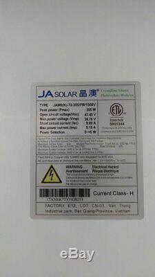 355 Watt Ja Solaire Jam6 (k) -72 À 355 / Pr Panneaux Solaires Ramassage Seulement