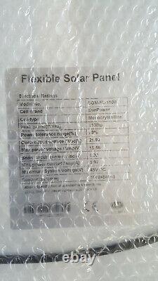 (4) Bulle Flambant Neuve Enveloppée- 110watt, Panneau Solaire Flexible Avec Des Cellules De Sunpower