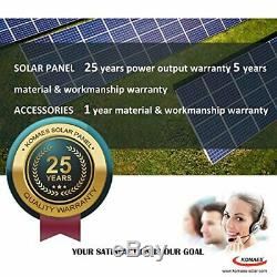 400 Watt 24 Volt Monocristallin Solaire Starter Kit Avec Pwm Contrôleur De Charge