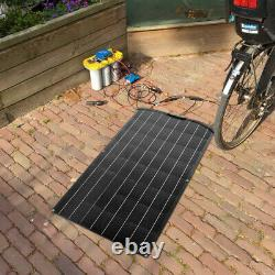 400 Watt Etfe 4pcs 100w Panneau Solaire Flexible Mono Pour 12v Batterie Rv Charge Bateau