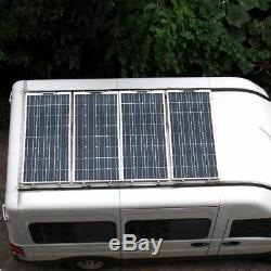 400 Watt Panneau Solaire Portable Flexible Accueil Camping Car Yacht 12v 24v Monocristallin