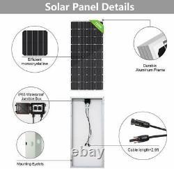 4000w Watt 20-195w Système De Panneaux Solaires Hors Réseau 48v Pour Home Shed Garden Farm
