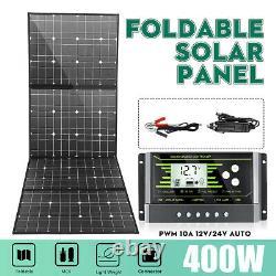 400w 18v Panneau Solaire 100 Watt Module Monocrystalline Camping Rv Marine