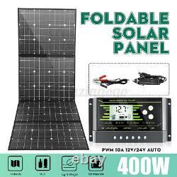 400w 18v Panneau Solaire 100 Watt Module Monocrystalline Camping Rv Marine Kit