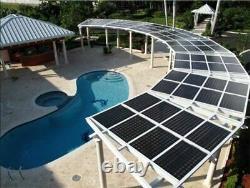 405 W Lg Panneau Solaire Lg405n2t-j5 Bifacial-pallet De 25-total Power 10125 Watts