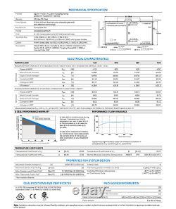 430 Watt Hanwha Qcells Panneaux Solaires Q. Peak Duo G8.2 Palette De 10 4,3 Kw