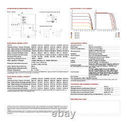 440 Watt Panneaux Solaires Canadiens Modèle Cs3w-440ms Palette De 10 4,40 Kw