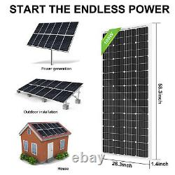 4kw 4000w Watt 48v Hors Réseau Panneau Solaire System20-195w Panneau Solaire Pour La Maison