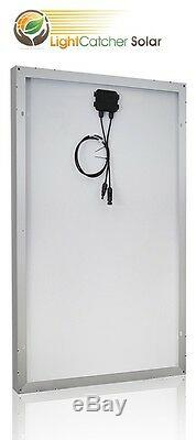 (4pcs) 100w Watts 100 Watt Panneaux Solaires Mono Allemand 12 Volt 12v Rv Boat Hors Réseau