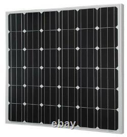 5 Panneaux Solaires 150w Watt 18v Avec Monocristallins Totale 750w