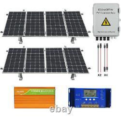 800w 1600w Watt 24 Volt Complet Kit Panneau Solaire Pour Jardin Ferme Terrain