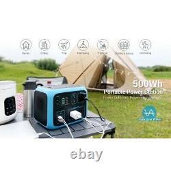 Bluetti Portable Power Station Ac50s 500wh 300watt Solar Generator 12v USA