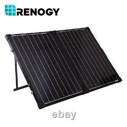 Boîte Ouverte Renogy 100w 12v Pliable Panneau Solaire Valise 100 Watt Off Grid Rv Boat
