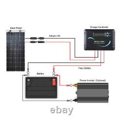 Boîte Ouverte Renogy 248° Flexible 160w Mono Solar Panel 160w 160 Watt Off Grid Bateau