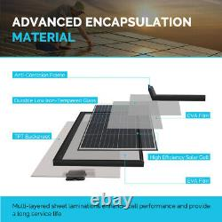 Boîte Ouverte Renogy Rigid 100w Watt Mono Panneau Solaire 12v Volt Black Frame Off Grid