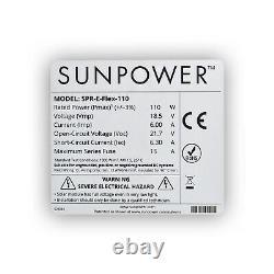 Centrale Électrique Portable De 400 W Avec Options De Panneau Flexible Sunpower De 110 Watts