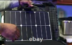 Centrale Électrique Portative Dans Le Cas Imperméable À L'eau 1000watts/1010wh Affaire De Batterie De Lithium
