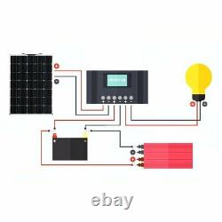Chargeur De Batterie Semi-flexible De Classe A 150w 150w Pour Bateau Rv