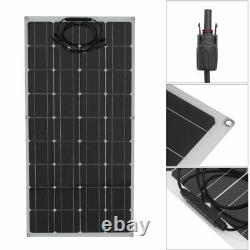 Chargeur De Batterie Semi-flexible De Classe A De 160w 160w Pour Bateau Rv