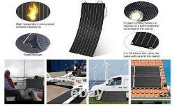 Chargeur De Batterie Solaire Monocristallin Portable De 1000 Watts 18v Rv