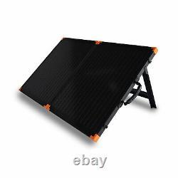 Chargeur De Panneau Solaire Portatif Pliable Flexsolar G100 100 Watt Avec Support