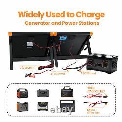 Chargeur De Panneaux Solaires Portatifs Pliables De 200 Watt Flexsolar G200 Avec Support (daméfié)